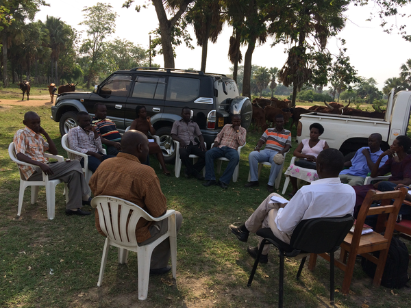 Lobby and Advocacy meeting in Ntoroko District