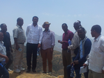 Exchange visit to Geblen (Helvetas project site)
